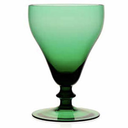 William Yeoward Myrtle Goblet in Green