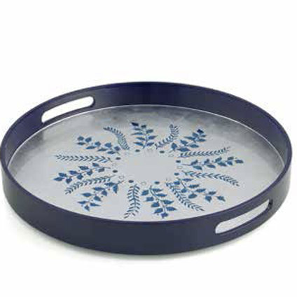 Lacquer Round Tray by William Yeoward