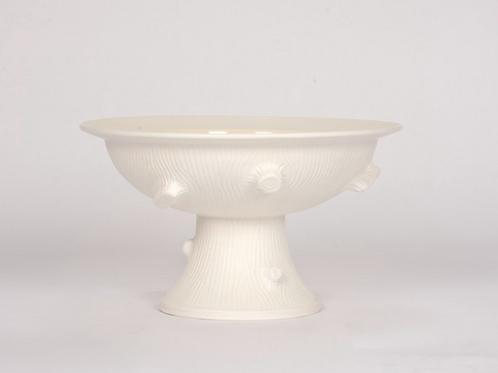 Pedestal Vase in Faux Bois by Christopher Spitzmiller