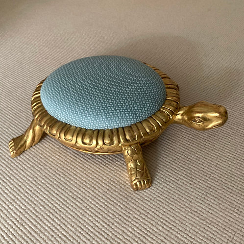 Gilded Turtle Foot Rest