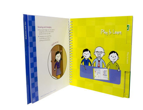 Wire-O Book With Write On-Wipe Off UV Pages