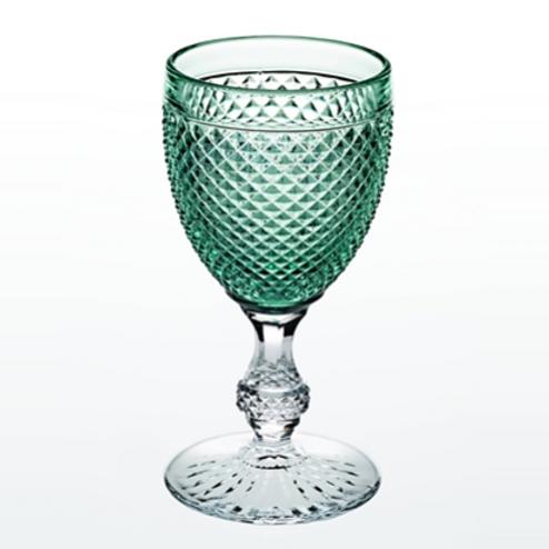 Bicos Bicolor Water Goblet