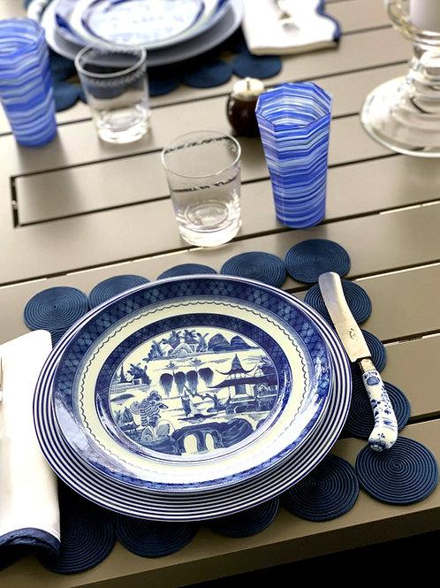 Blue Canton Dinner Plate
