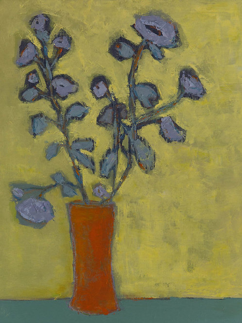 Periwinkle Painting By Bill Tansey