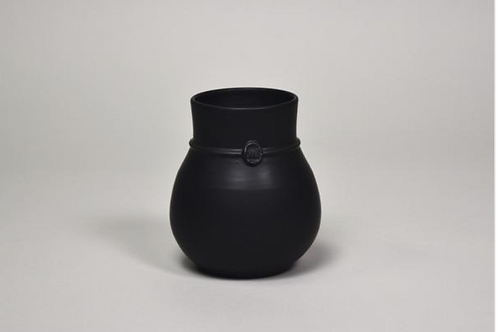 Nicholas Newcomb Banded Vases- Black or White