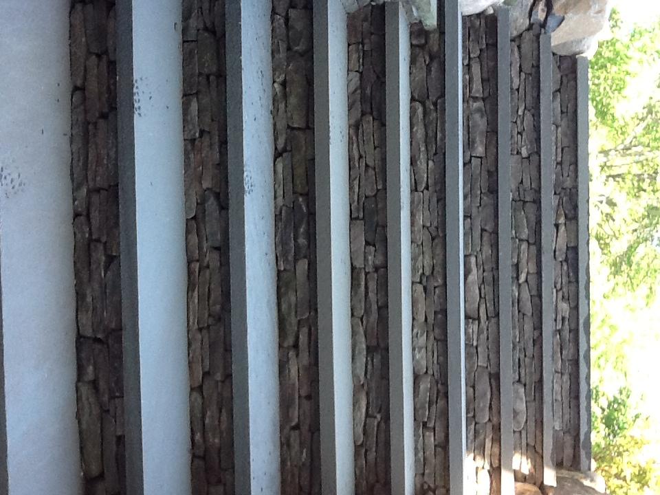 Bluestone- steps-Twin Fork Landscape