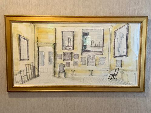 Pierre Bergian -Artists Studio Painting