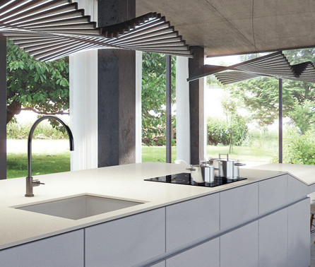 Fresh Concrete White by Caesarstone