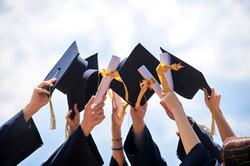 Graduation caps-University Property