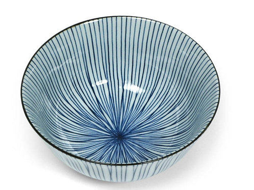 Sensuji Lines Blue Bowl