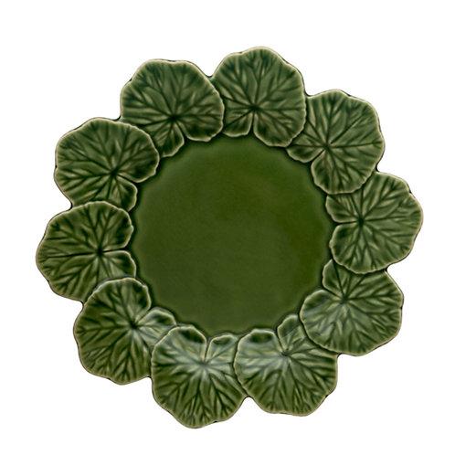 Bordallo Pinheirho Geranium Plate-Set of4