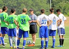 Boys Academy soccer team