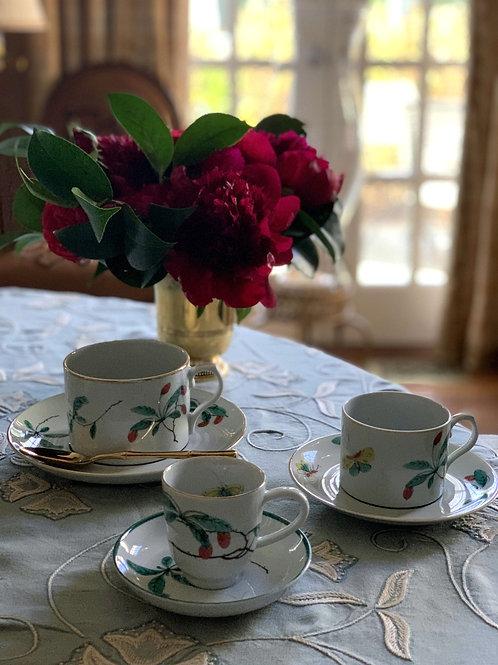 Famille Verte Cup & Saucer