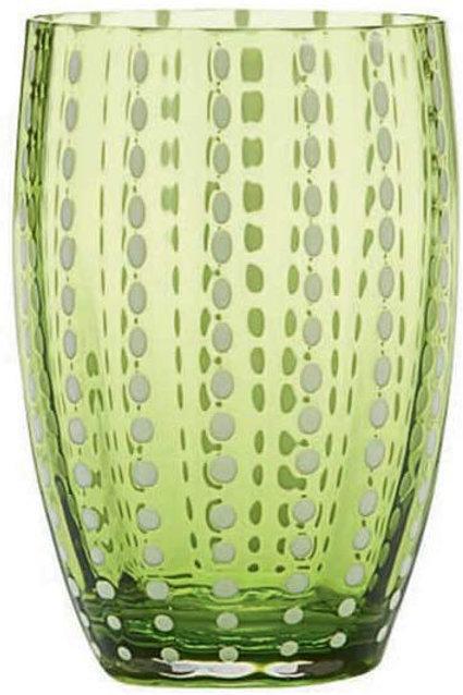 Zafferano Perle Apple Green Glasses
