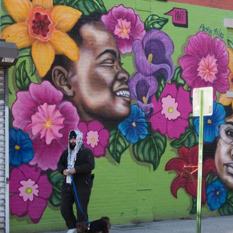 Local wall art