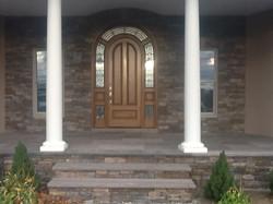 Stonework entrance & exterior-TFLC