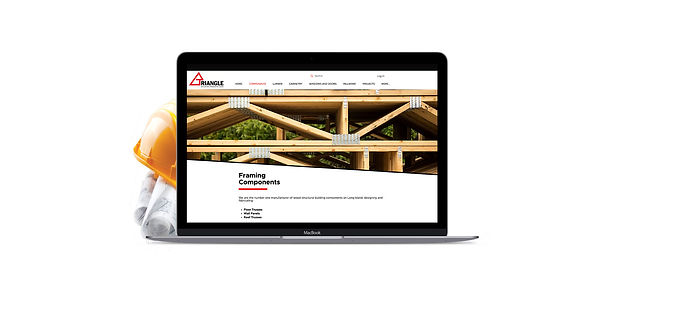 Triangle Building Products Website