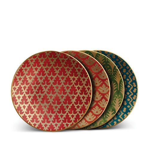 Fortuny Canape Plates- Set of Four