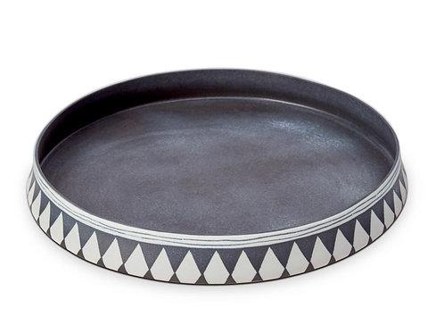 Tribal Diamond Platters by L'Objet