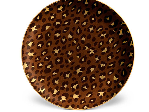 Leopard Plates- Set of Four