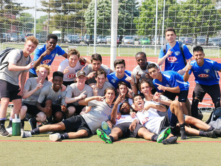 Oakwood Soccer U16 Academy Wins Northeast Division Championship 2015-16