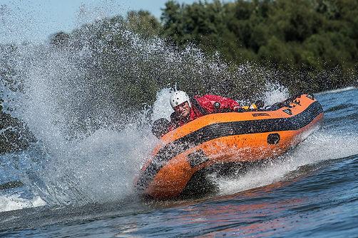 Sea Eagle Rescue Boat Spray