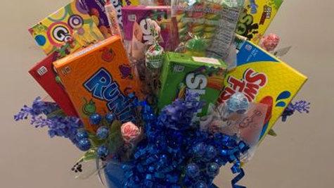 Large box Candy Bouquet