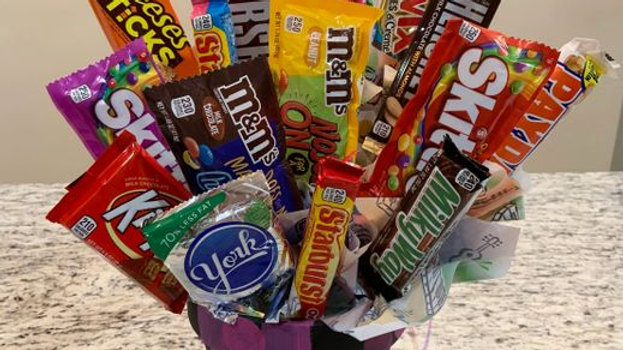 Candy Bouquet - Regular Sized Candy