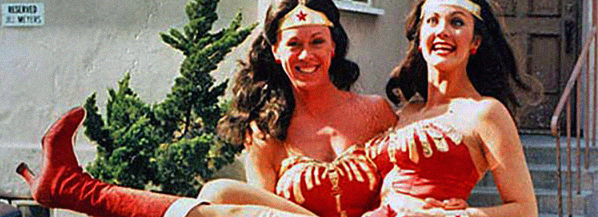Wonder Woman with Stunt Double