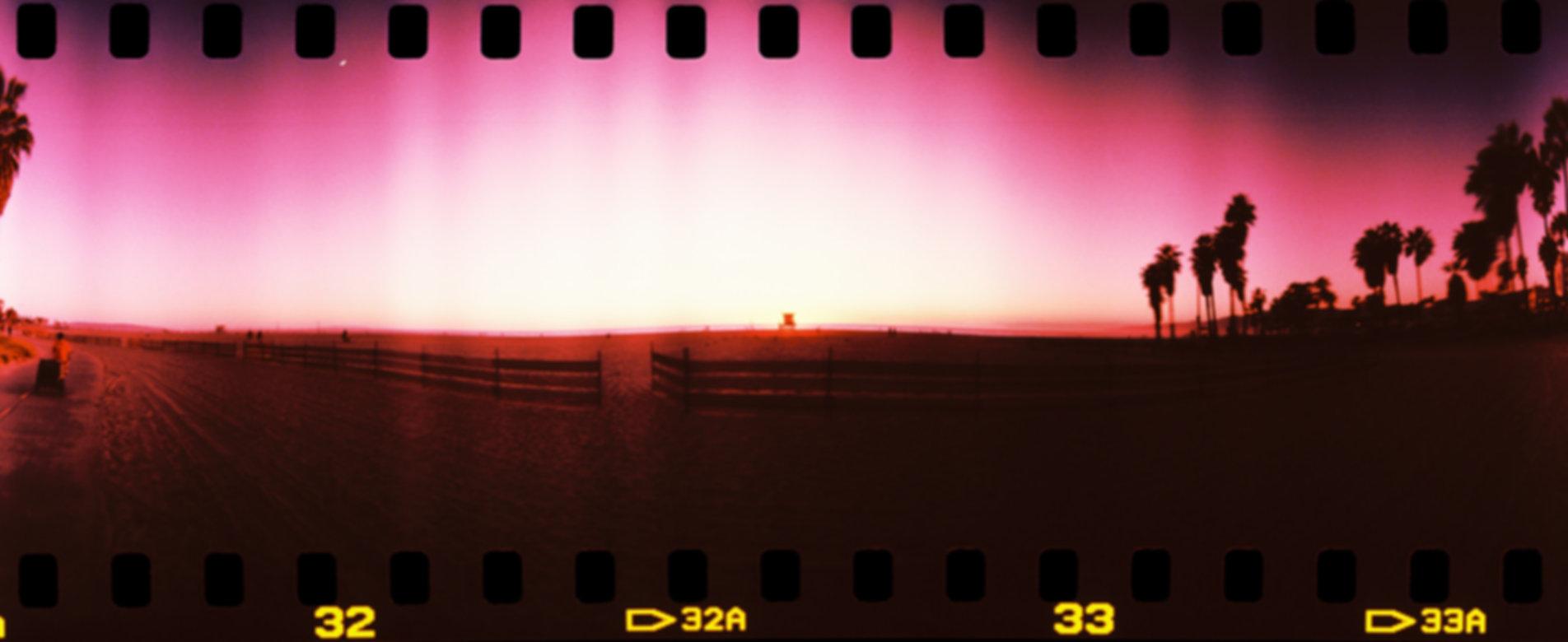 Pink Sunset Venice Beach