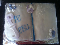 Book style cake