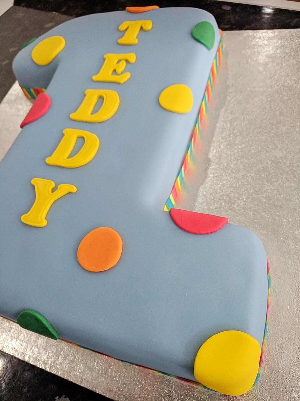 Number 1 Boys Cake