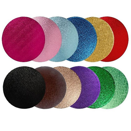 Coloured Cake Drum Round (thick)