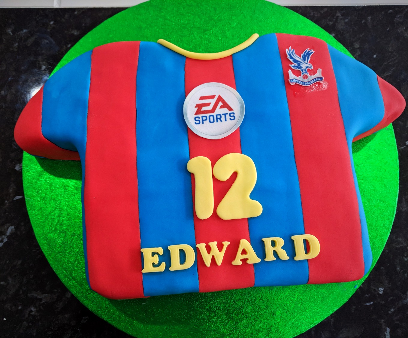 Crystal Palace Football Shirt
