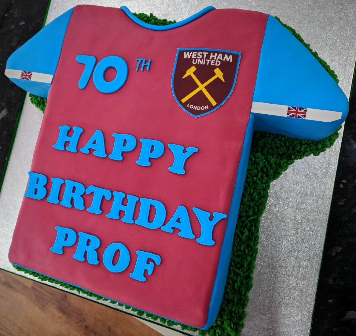 West Ham Cake