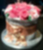 Pot of Roses cake