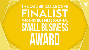 The Colibri Collective is a finalist for Phoenix Business Journal's Small Business Awards