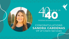 """""""40 Under 40"""" Highlights VP of The Colibri Collective"""