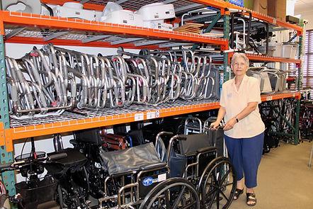 Marlene in storeroom walkers IMG_0819.jp