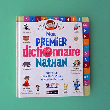 Mon Premier Dictionnaire Nathan 3-6 ans