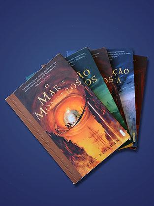 Coleção completa PercyJackson (5 livros) - Rick Riodan