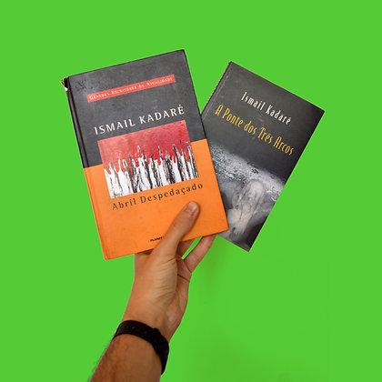 Pacotinho Ismail Kadaré - Abril Despedaçado e A Ponte dos Três Arcos