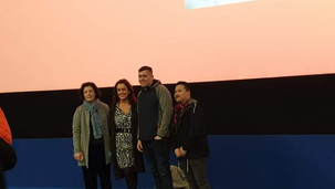 Dean with DIFF director Grainne Humphrey