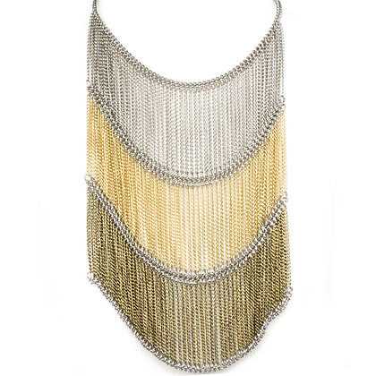 NECKLACE  - SILVER/GOLD/BRONZE