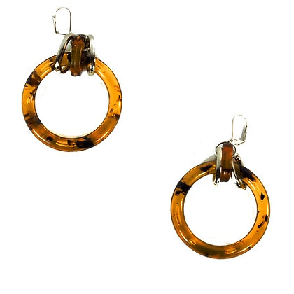 Tortoise Hoop Earring Model: 28-888243