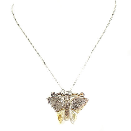 Color Changing Butterfly Necklace - TROY 100 CCB