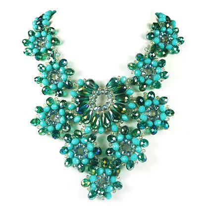 Crystal Beaded Turquoise Model: TROY-N110