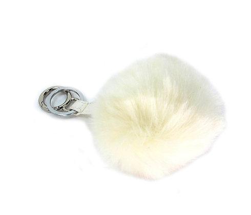 Fury Key Chains- White