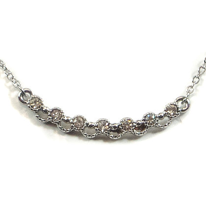 Crystaled Silver Dainty - 910 N927RH