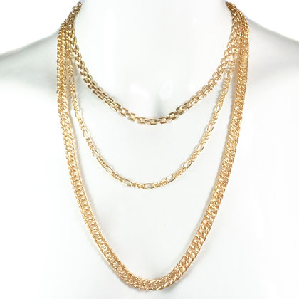 Gold Chain Necklace - ASD 345